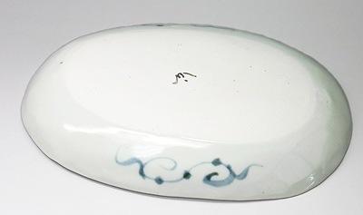 陶房拓実(山中窯)楕円皿