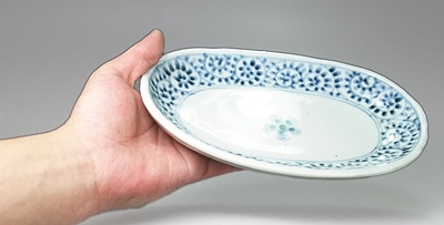 和食器の蛸唐草文