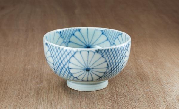砥部焼 山中窯 ごはん茶碗