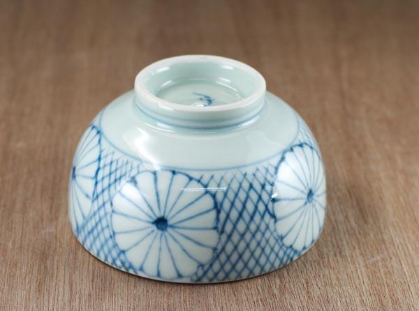 砥部焼 山中窯 茶碗
