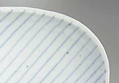 山中窯 楕円皿