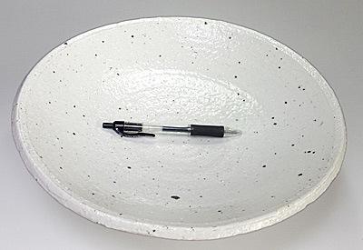 山中窯の大鉢 大きさ比較