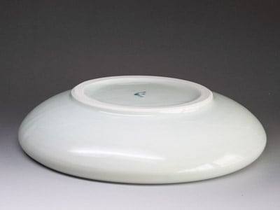 砥部焼・玉縁鉢(蛸唐草)