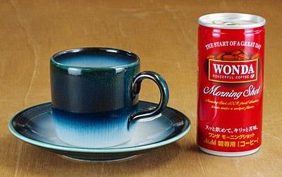 砥部焼 コーヒーカップ 大きさ比較