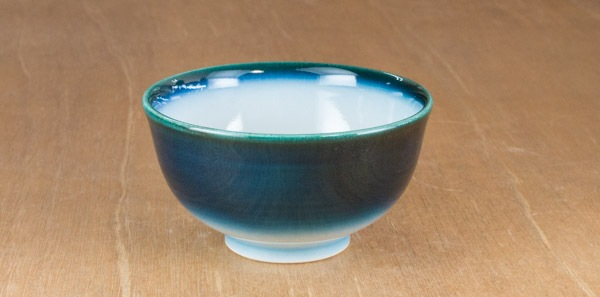 砥部焼 ヨシュア工房 汁碗(ヨシュアブルー)