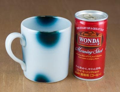 ヨシュア工房 マグカップ 大きさ比較