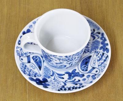 砥部焼 コーヒーカップ&ソーサー