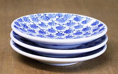 和食器 4寸皿 重なり