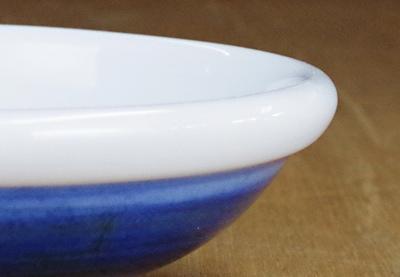 砥部焼 陽貴窯 玉縁鉢