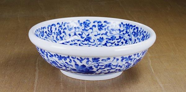 砥部焼き 陽貴窯 玉縁鉢