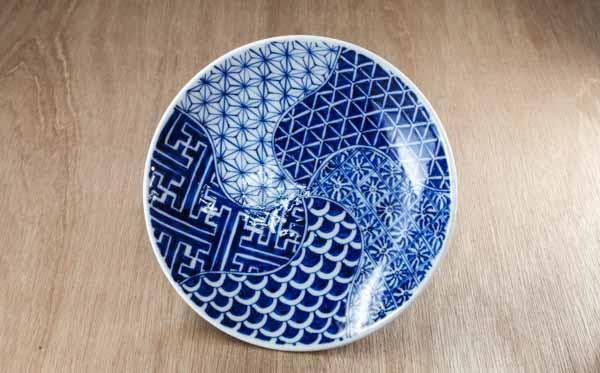 砥部焼 陽貴窯 丸皿