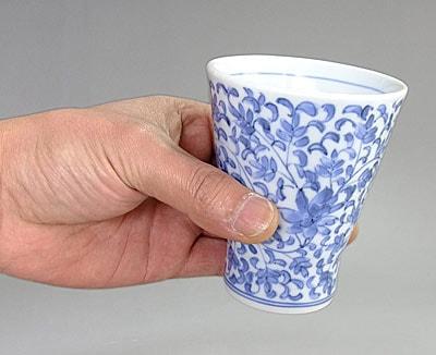 砥部焼 陽貴窯のフリーカップ