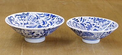砥部焼き 夫婦茶碗