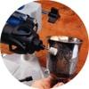ロータリーツールを90°に固定して研磨作業をしてみたり。