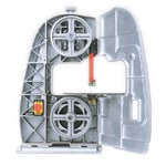オールアルミダイカスト製でしかも内部は頑丈なリブ構造