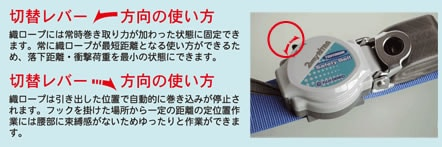 【藤井電工】 2WAYリトラ TRL-90ALSV 【一般高所作業用安全帯/ツヨロン】