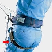 【サンコー】 柱上用安全帯補助ランヤード DJR-18W 【タイタン安全帯】
