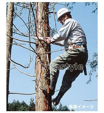 藤井電工安全帯/ツヨロン 木登り器 FR-100 林業用安全器具