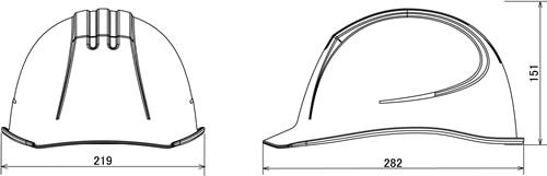 【谷沢/タニザワ】 ABS素材ヘルメット ST#0161-EZ (ライナー入) 【作業/防災/安全】