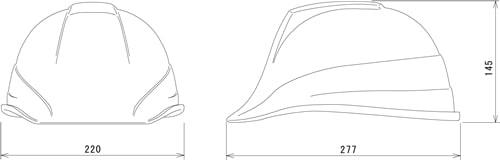 【谷沢/タニザワ】 PC素材ヘルメット ST#189-EZ (ライナー入) 【作業/防災/安全】