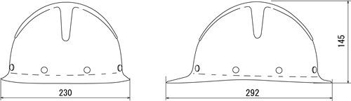 【谷沢/タニザワ】 FRP素材ヘルメット ST#155-EPZ (ライナー入) 【作業/防災/安全】