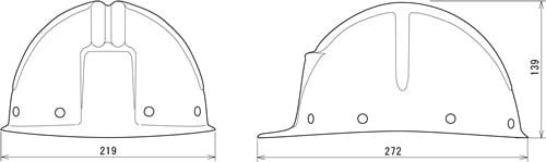【谷沢/タニザワ】 FRP素材ヘルメット ST#192-DPZ (ライナー入) 【作業/防災/安全】
