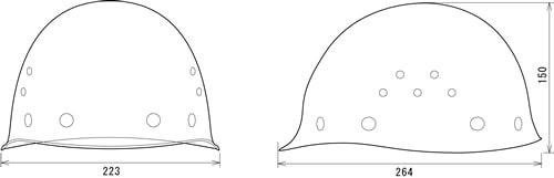 【谷沢/タニザワ】 FRP素材ヘルメット ST#1080-EPZ (ライナー入) 【作業/防災/安全】
