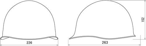 【谷沢/タニザワ】 PC素材ヘルメット ST#180-FZK (ライナー入) 【作業/防災/安全】