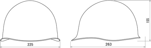 【谷沢/タニザワ】 PC素材ヘルメット ST#142-DZ (ライナー入) 【作業/防災/安全】