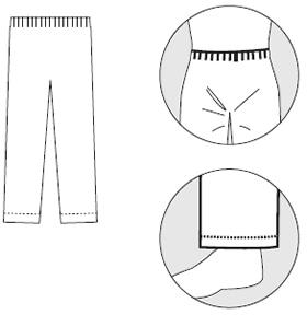 【防護服/保護服】 タイベックズボン 3580 【作業服】