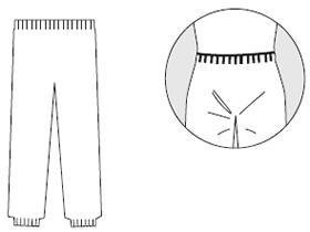 【防護服/保護服】 タイベックズボン 3581 【作業服】