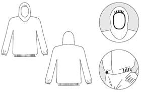 【防護服/保護服】 タイベックヤッケ 7000P 【作業服】
