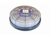 【興研】 防塵マスク用アルファリングフィルタ LAS-1(1121R/1191D用) (2個/1組) 【粉塵/作業/医療用】