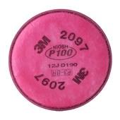 【3M/スリーエム】 防塵マスク用用フィルター 2097 (6000/2097-RL3用) (2枚/1組) 【粉塵/作業/医療用】