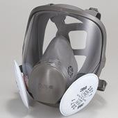 【3M/スリーエム】 取替え式防塵マスク 6000DDSR/2071-RL2 【粉塵/作業/医療用】