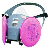 【3M/スリーエム】 取替え式防塵マスク 6000DDSR/2091-RL3 【粉塵/作業/医療用】