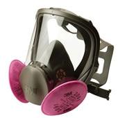【3M/スリーエム】 取替え式防塵マスク 6000F/2091-RL3 【粉塵/作業/医療用】