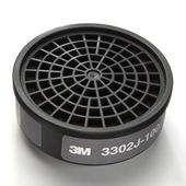 【3M/スリーエム】 酸性ガス用吸収缶 3302J(3000用) (1個) 【ガスマスク/作業】