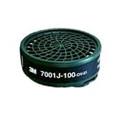 【3M/スリーエム】 有機ガス用吸収缶 7001J-100(7700用) (1個) 【ガスマスク/作業】