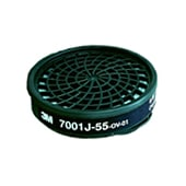 【3M/スリーエム】 有機ガス用吸収缶 7001J-55(7700用) (1個) 【ガスマスク/作業】