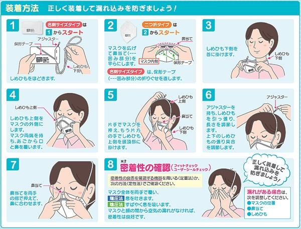 【シゲマツ】 使い捨て式防塵マスク DD02-S2-DS2 (10枚入) 【粉塵/作業/医療用】