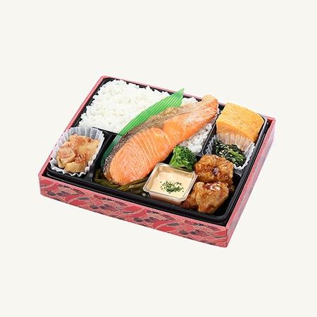 鮭職人鈴木さんの銀王幕ノ内弁当