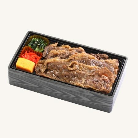 北海道産黒牛の贅沢牛めし重