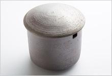 茶こし受け 黒陶 陶器|大