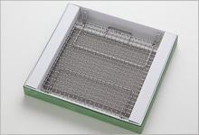 足付焼網セット(箱入り) ステンレス|正方形