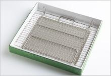 足付焼網セット(箱入り) ステンレス|長方形