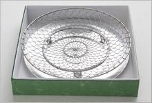 手編み水切り皿セット(箱入り) ステンレス