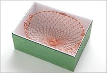 銅オーバル型かご(箱入り)