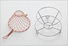 手編みコーヒードリッパ—|銅(大 1〜4杯用)