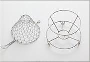 手編みコーヒードリッパー ステンレス (大 1〜4杯用)